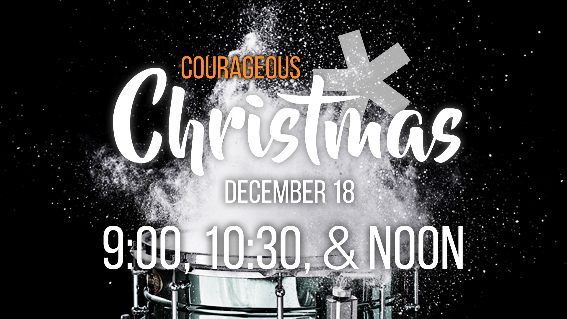 Courageous Christmas