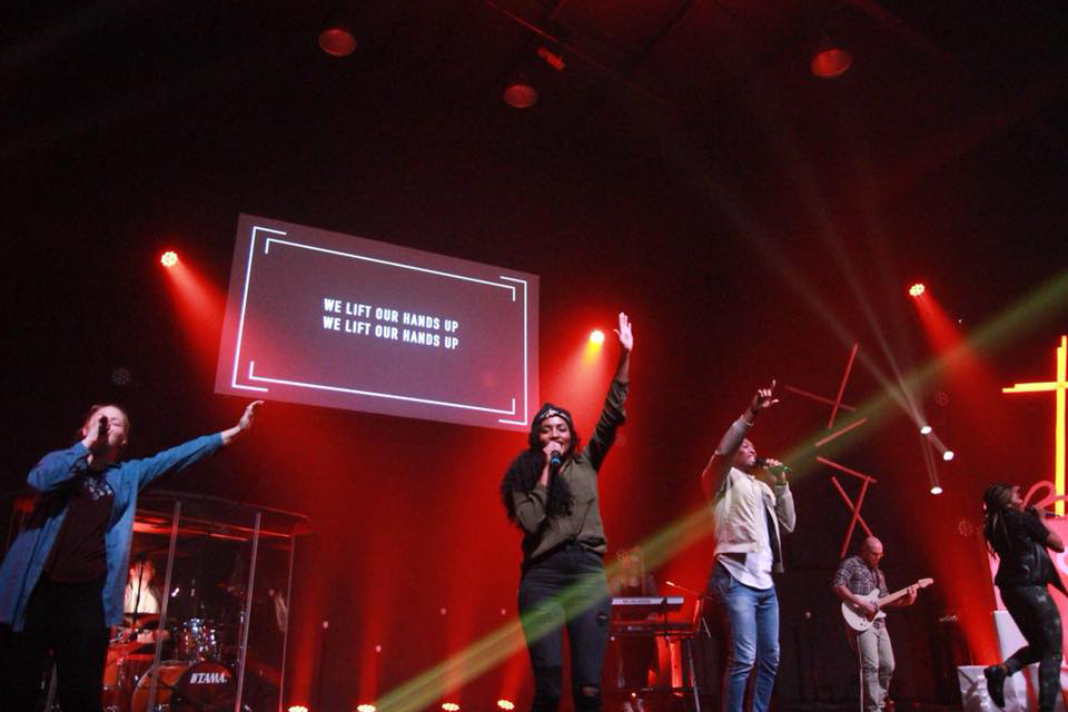 Worship Team at South Campus